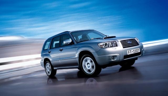 Subaru Forester - один из представителей данного класса