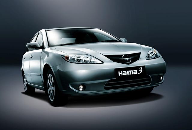 Haima 3 - легковой автомобиль из Китая