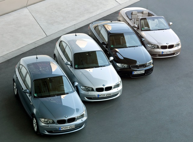 Пример автомобилей разного класса