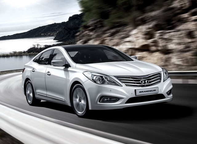 Корейский седан Hyundai Grandeur