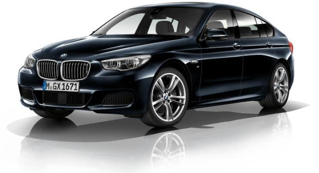 BMW 550i GT xDrive - красивый спортивный автомобиль
