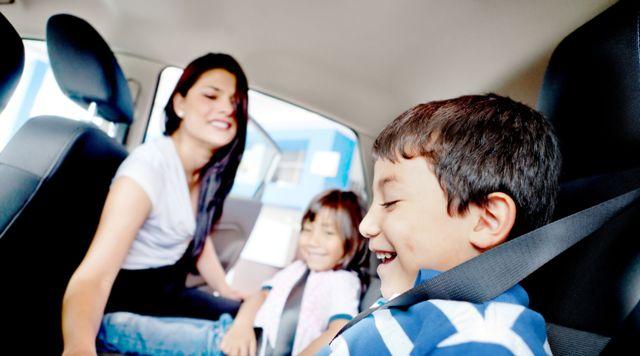 Дети могут стать источником загрязнения салона авто
