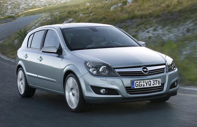 Немецкое авто Opel Astra
