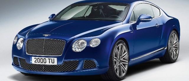 Bentley Continental GT Speed - двухдверное британское авто
