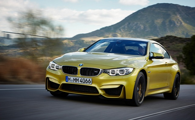 BMW M4 Coupe - немецкий красавец