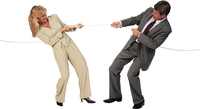 Часто супруги не могут сами поделить имущество