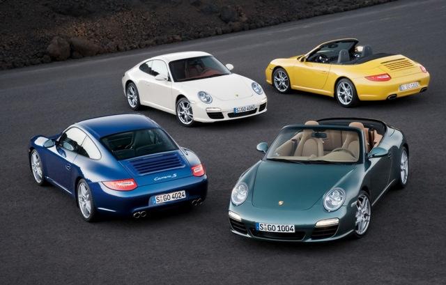 Porsche 911 - одни из самых качественных автомобилей