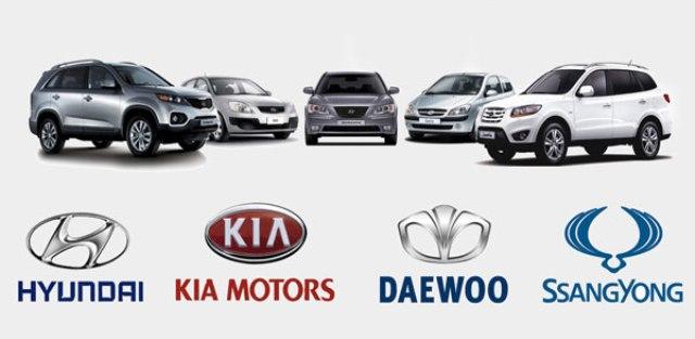 Марки южнокорейских авто