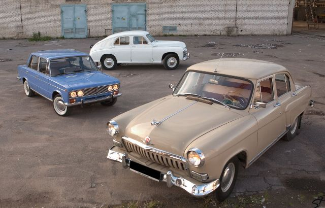 Отечественные машины