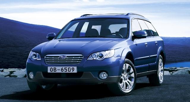 Японский автомобиль Subaru Outback