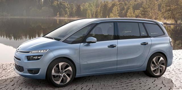 Citroën C4 Grand Picasso нового поколения