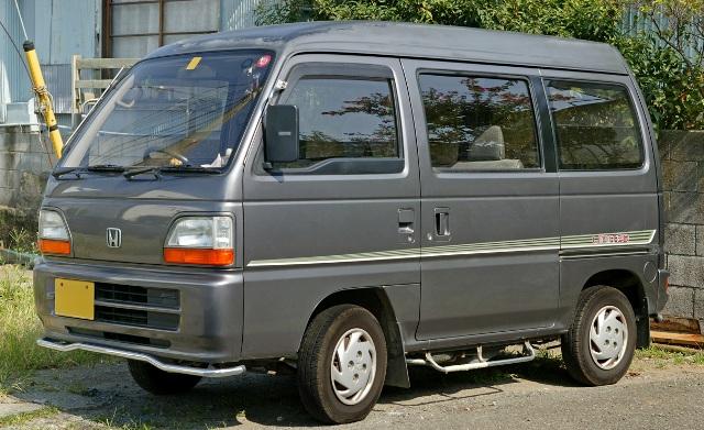 Honda Acty - пример микровэна