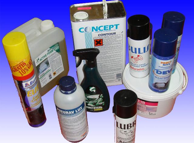 На рынке существует огромное количество различных средств для чистки и мойки авто