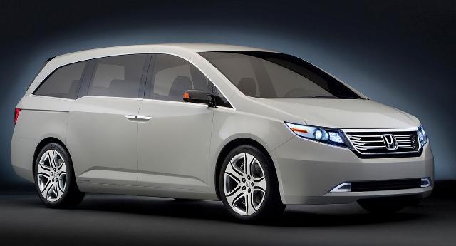 Honda Odyssey - один из лучших минивэнов в плане надежности