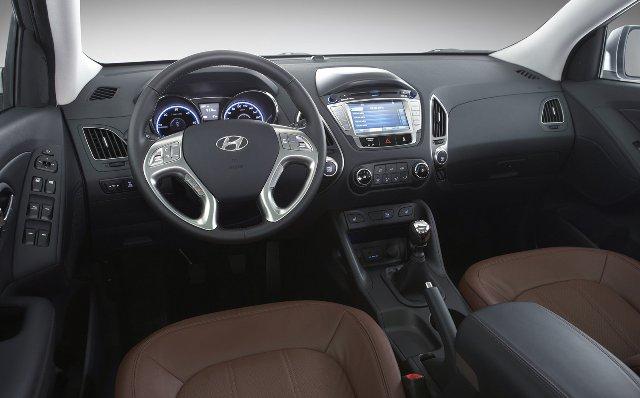 Интерьер Hyundai ix35