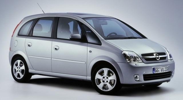 Opel Meriva - безопасный автомобиль