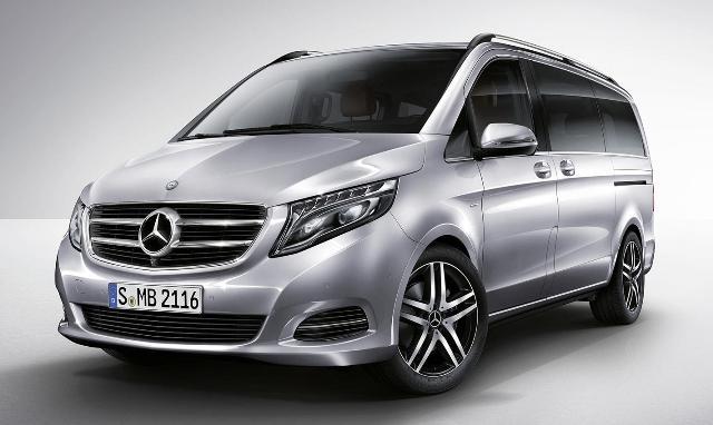 Mercedes Benz V-Class подойдет для коммерческих целей и семейных поездок