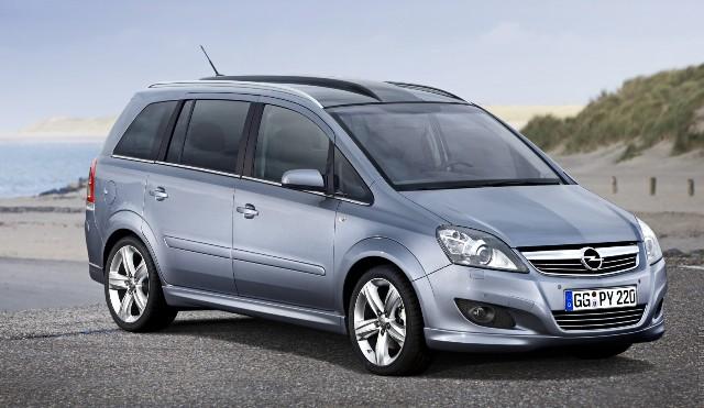 Opel Zafira - великолепный выбор для экономных людей
