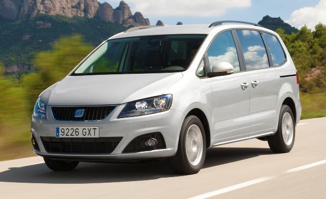 SEAT Alhambra - семиместный автомобиль