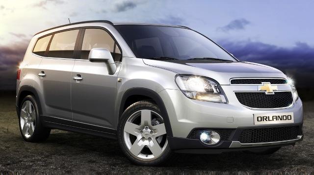 Chevrolet Orlando - комфортный и вместительный автомобиль