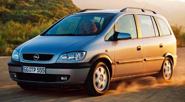 Подержанные Opel Zafira сохраняют свою надежность