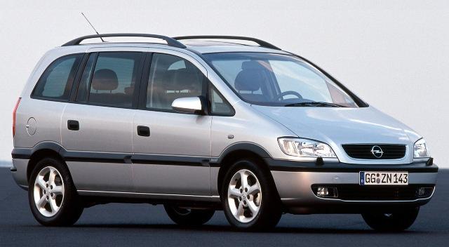 Opel Zafira - немецкий минивэн