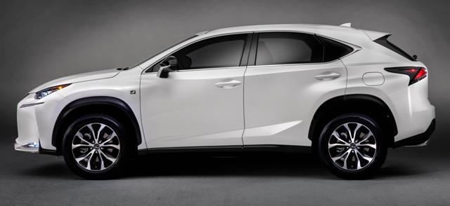 Lexus NX 200t - мощная машина