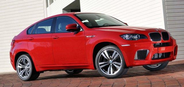 Новый BMW X6 M