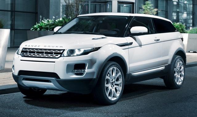 Range Rover Evoque - британский кроссовер