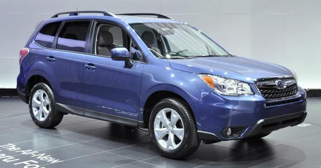 Subaru Forester 2014 года