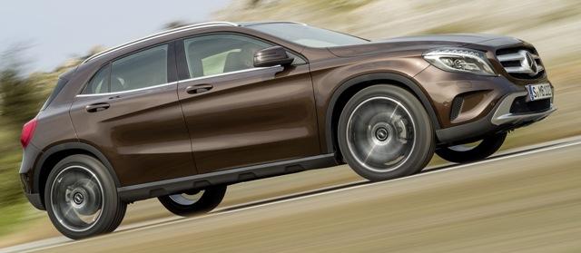 Новый кроссовер Mercedes-Benz Gla-Class