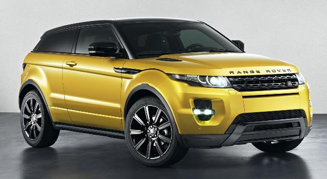 Range Rover Evoque обладает великолепным экстерьером