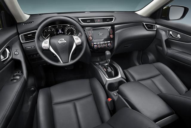 Салон автомобиля Nissan X-Trail III