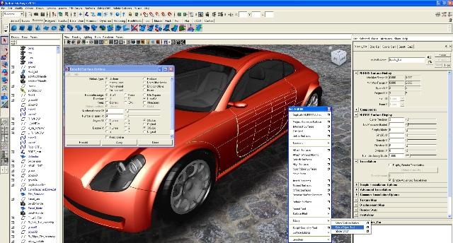 Работа в Autodesk Maya