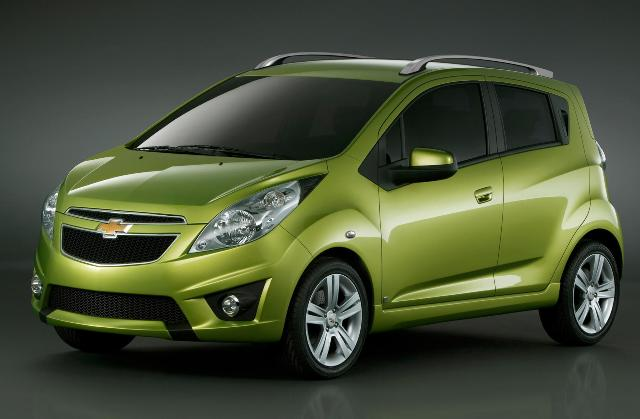 Chevrolet Spark - экономичная машина