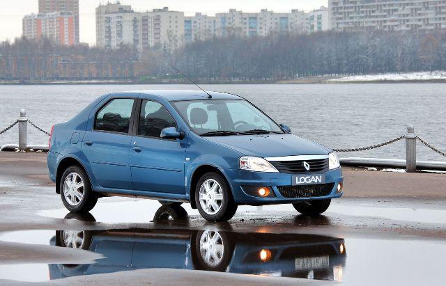 Популярный в России Renault Logan