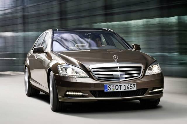 Представительский автомобиль Mercedes-Benz S-класс