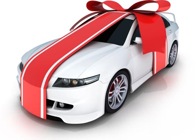 Машину могли подарить одному из супругов