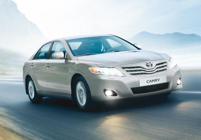 Toyota Camry - популярная в России машина