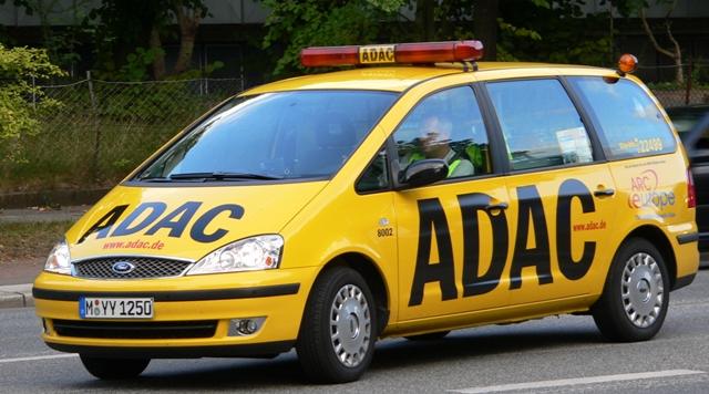 Машина компании ADAC
