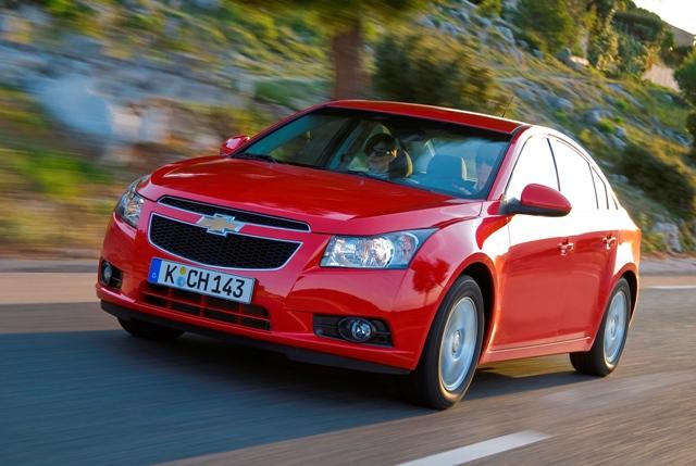 Chevrolet Cruze - авто производства General Motors