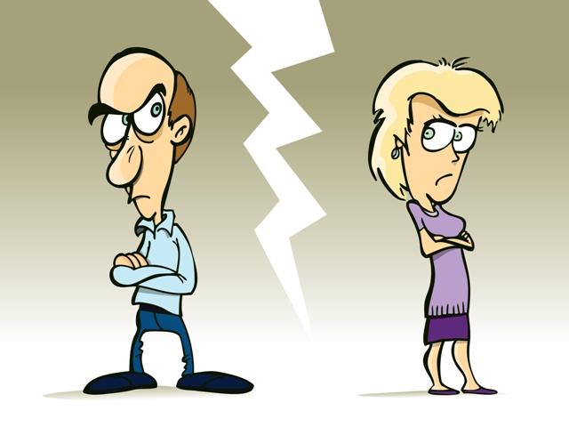 Суд помогает парам, которые неспособны договориться самостоятельно
