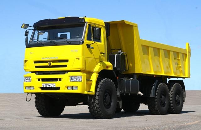 КАМАЗ - известный и популярный в России грузовик