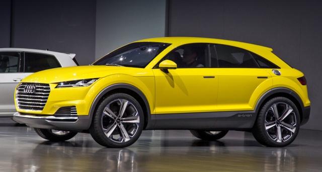 Audi TT offroad - стильный паркетный внедорожник