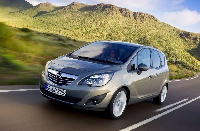 Opel Meriva - популярный автомобиль