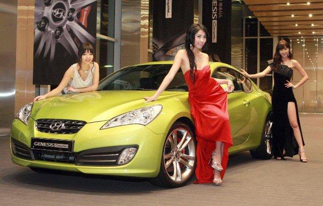 Южнокорейский автомобиль