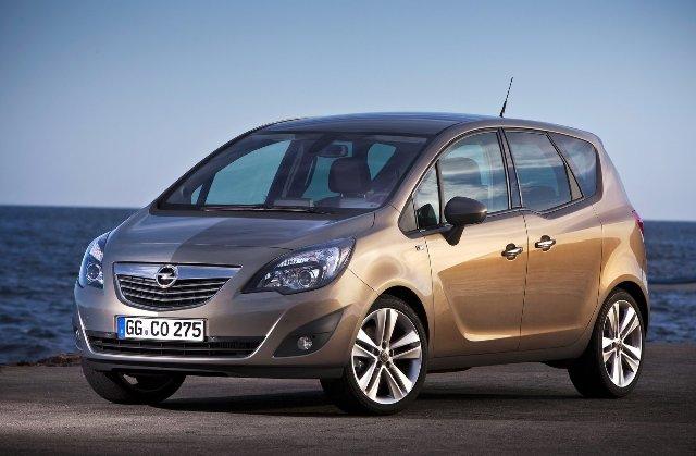 Opel Meriva - автомобиль с наименьшим числом поломок