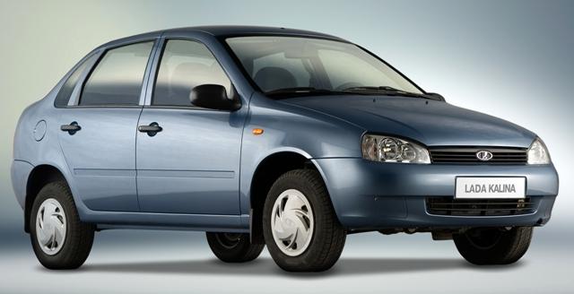 Lada Kalina - авто от отечественного производителя