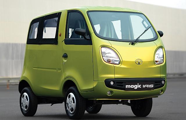 Tata Magic Iris - один из самых дешевых минивэнов в мире