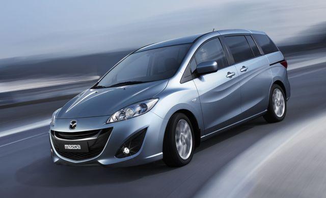 Mazda5 - безопасное пятидверное авто